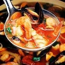 Bouillabaisse - Fisk- och skaldjurssoppa - Recept - Tasteline.com