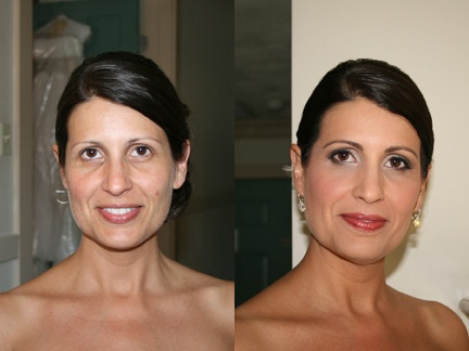 Airbrush Bridal Makeup Before And After : 25 best images about Our Work - Before and After on Pinterest
