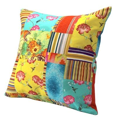 Bright Multi. An exclusive Design Art House cushion range.  Made in Australia from imported fabric. www.designarthouse.com.au