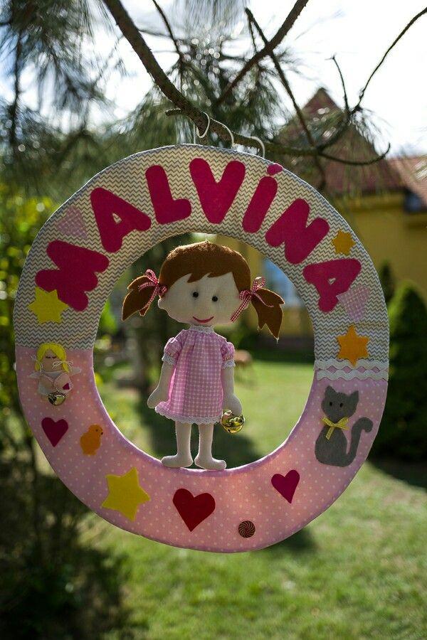 3D textilný záves pre  Malvínu