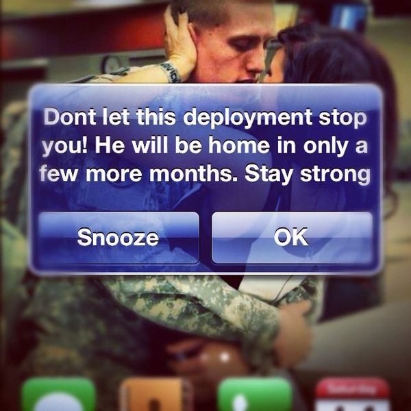 Reminders on the cell. Don't let this deployment stop you!