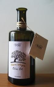 etichetta olio albero ulivo