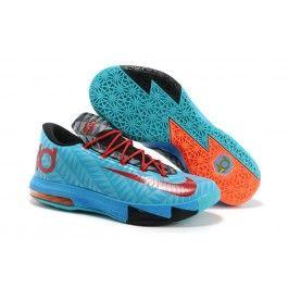 Billig Nike KD VI Elite Männer Schuhe Schwarz Rot Blau Schuhe Online | Neueste Nike KD V Baskeball Schuhe Online | Nike Schuhe Online Und Günstige | schuheoutlet.net