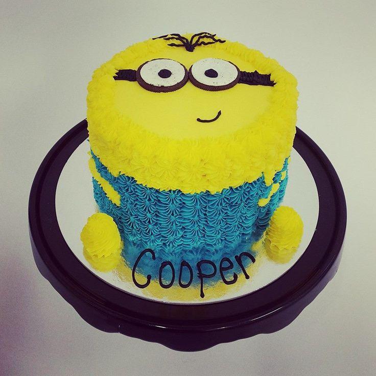 Minion Cakes Pinterestte  Pastalar, Minion Cupcakes ve Doğumgünü ...