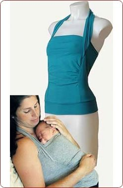 Skin-to-Skin carrier that's a shirt. Great for a newborn baby! Love this, want for #2.
