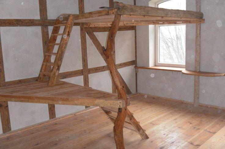Betten - Hochbett, Hochetage, kinderzimmer - ein Designerstück von woodworkers bei DaWanda