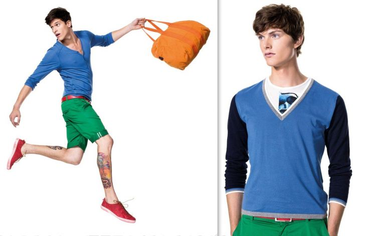 United Colors of Benetton Spring/Summer 2012 lookbook