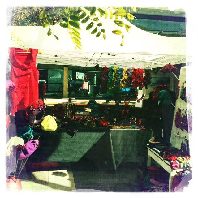 Lulu Tissu stall - amazing handmade creations!