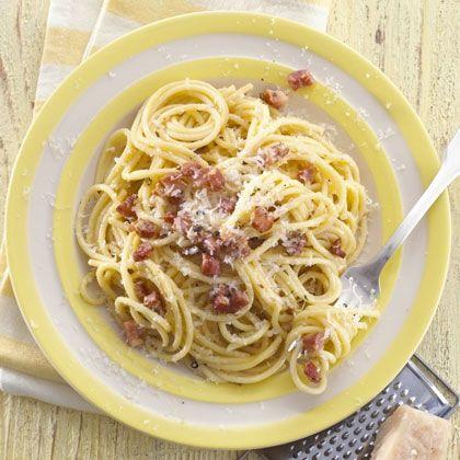 Spaghetti Carbonara - always good!