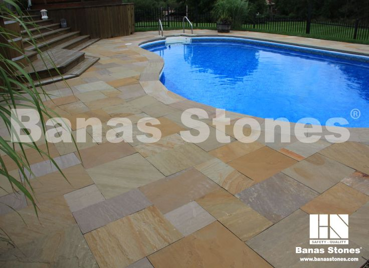 Banas Bronte Pool Coping Available at our store at 3500 Mavis Rd, Mississauga, ON L5C 1T8