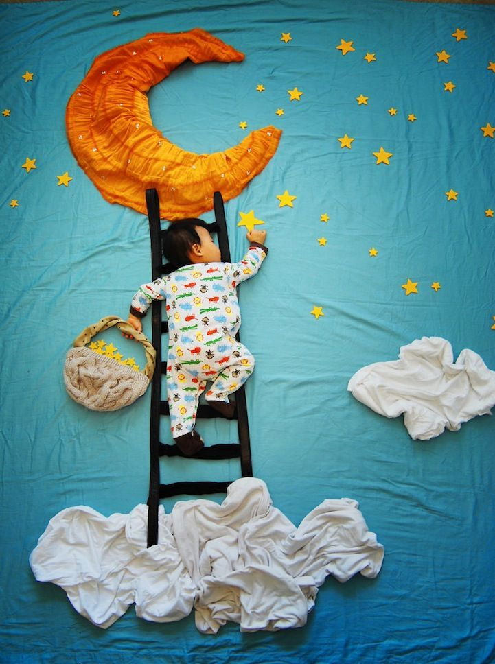 Mother Creates Adorable Adventures for Her Sleeping Son - My Modern Metropolis