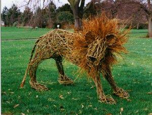 Aslam the lion, Kew Gardens London.