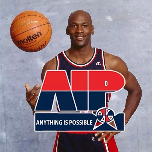 AIP, the motto baby