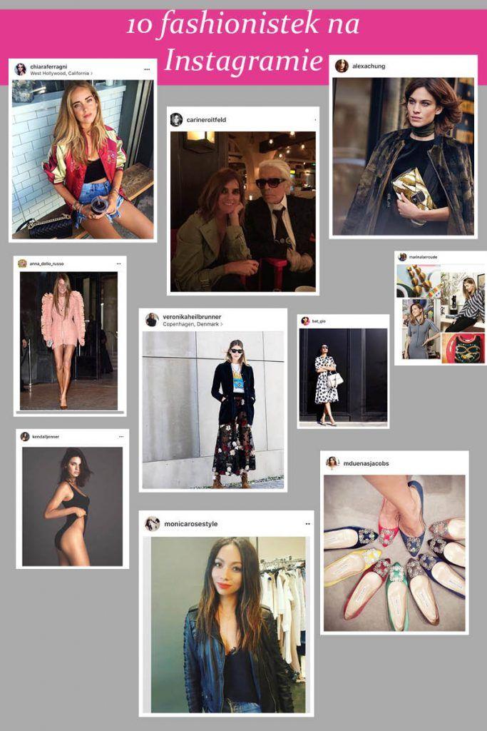Wybraliśmy 10 osób z branży mody, które warto śledzić na Instagramie w czasie Fashion Week