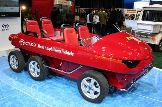 CT&T debuts electric Multi Amphibious Vehicle | Ecofriend