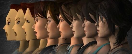 Moore's law visualized through the evolution of Lara Croft