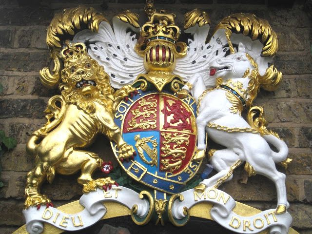 The United Kingdom of Great Britain Coat of Arms