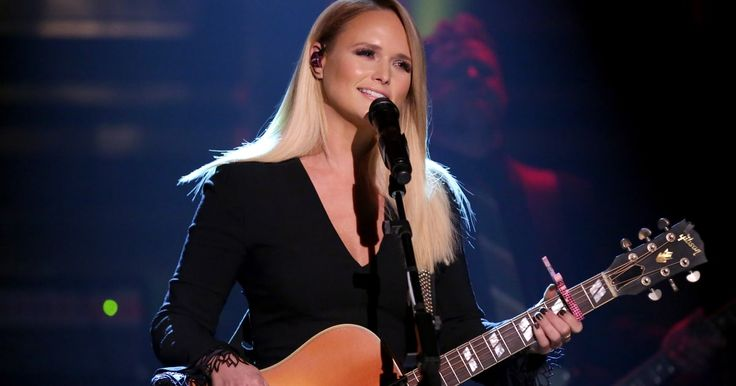 "Miranda Lambert performs ""Vice"" from her new album 'The Weight of These Wings' on 'The Tonight Show.'"