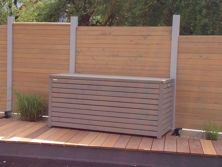 oltre 25 fantastiche idee su auflagenbox su pinterest pali per recinzioni holzaufbewahrung e. Black Bedroom Furniture Sets. Home Design Ideas