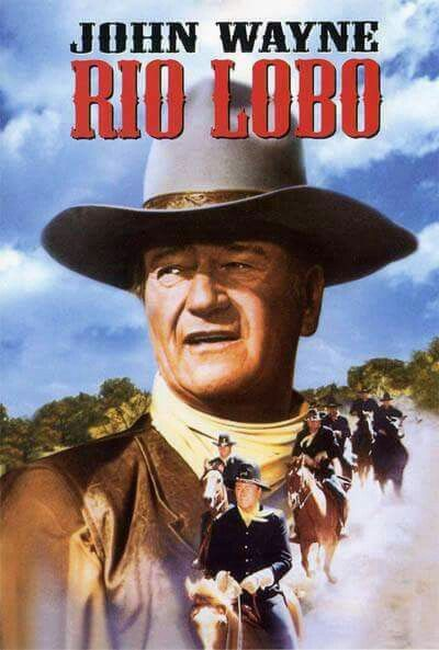 John Wayne in Rio Lobo