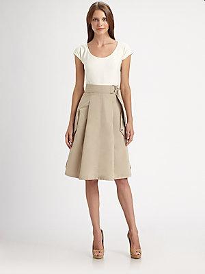 Akris Punto Parachute-Skirt Dress