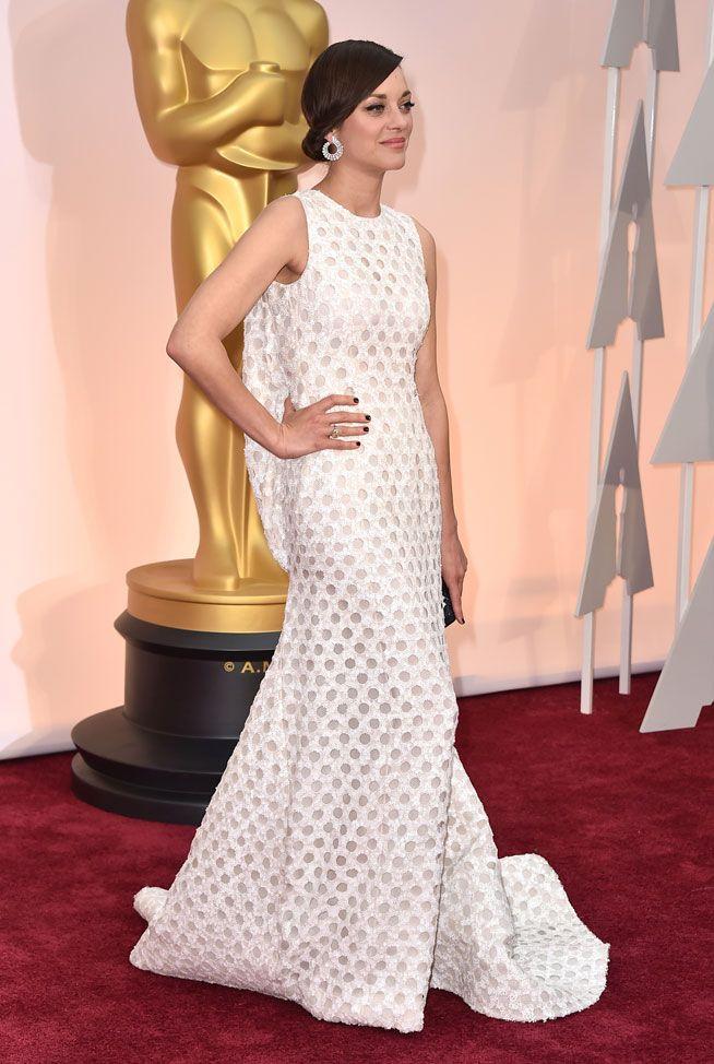 Marion Cotillard - Dior - Oscars 2015