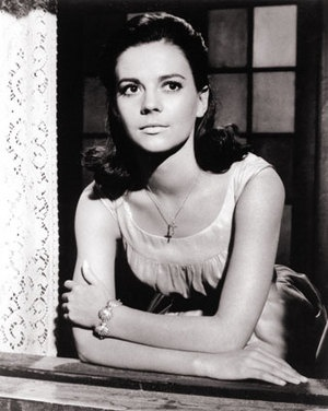 """Natalie Wood: Russian-American actress known for her role in """"A West Side Story"""" (1961), """"Gypsy"""", """"Splendor in the Grass"""", and """"Rebel Without a Cause"""""""