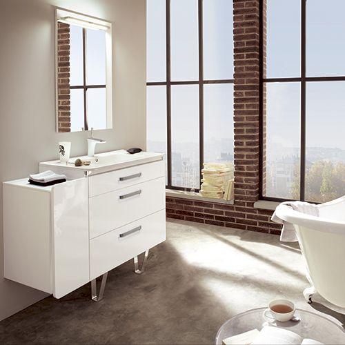 7 best meuble de salle de bain lido images on pinterest bathroom furniture. Black Bedroom Furniture Sets. Home Design Ideas
