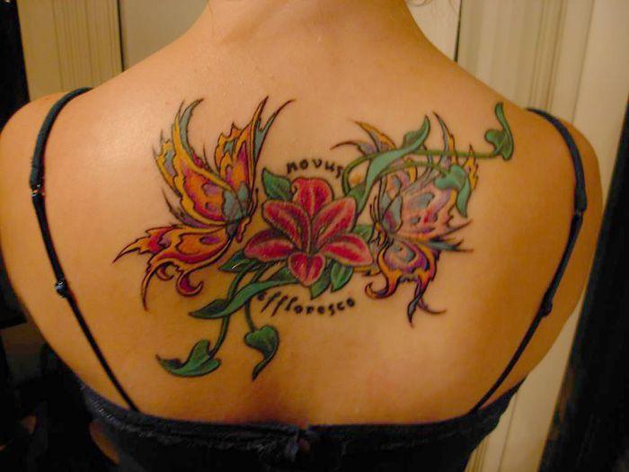 Tropical Flower Tattoos: Tropical Flower Tattoos
