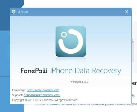 fonepaw iphone data recovery 3.8.0 crack