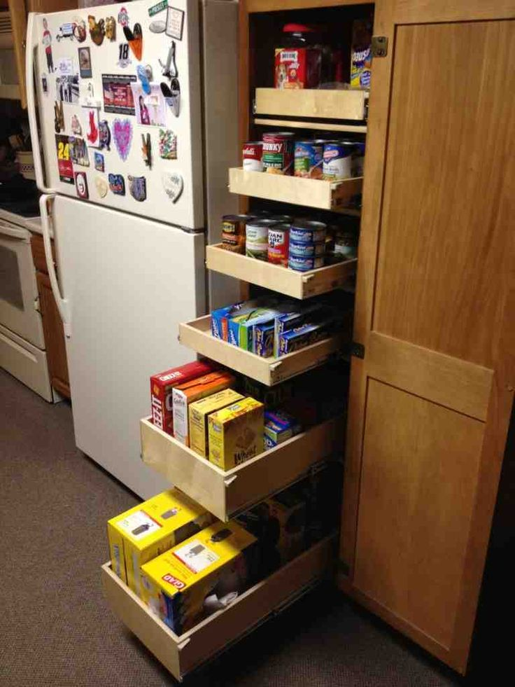1000 ideas about pull out pantry on pinterest slide out. Black Bedroom Furniture Sets. Home Design Ideas
