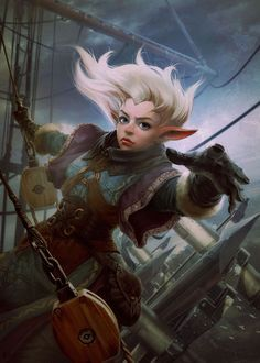 dungeons and dragons sailor gnomes - Google Search