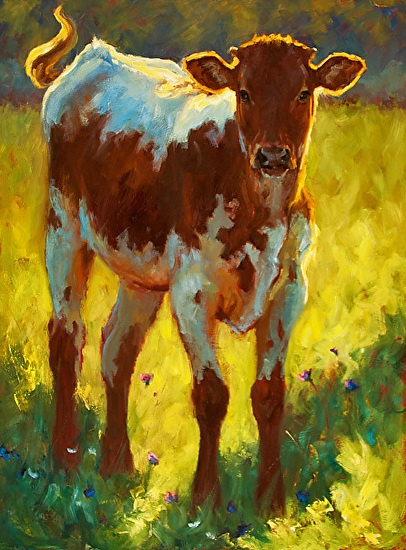 Abstract Oil Painting Animals