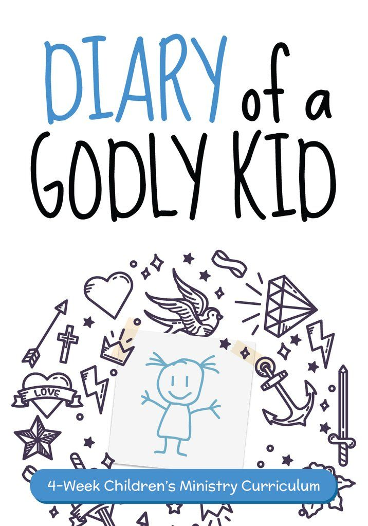 Diary Of A Ly Kid Children S Ministry Curriculum