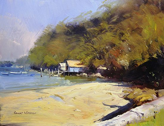 Little Sirius Cove Sydney by Colley Whisson