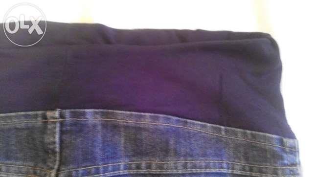 Плотные джинсы для беременных