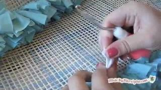 How To Make A T-Shirt Recycled Rug, via YouTube.