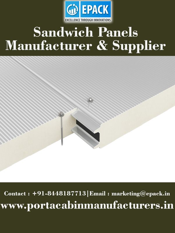 There are various sandwich panels manufacturers in India but