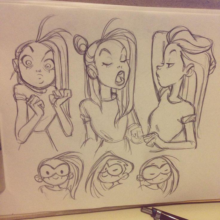 « #sketching #girls»