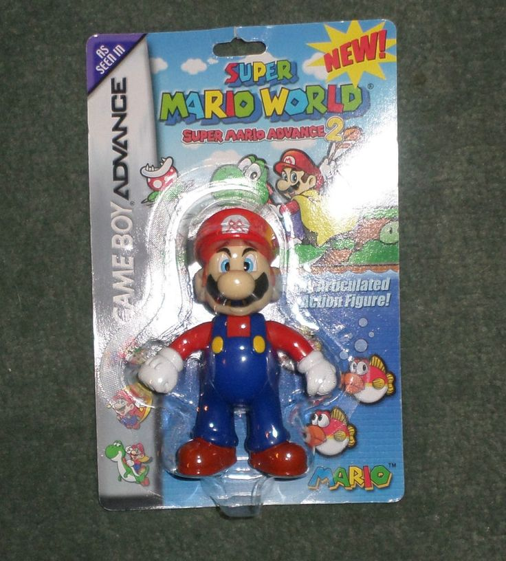 2002 Super Mario World Super Mario Advance 2 Action Figure