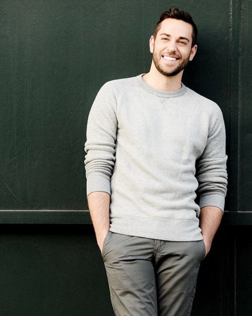 Zachary Levi, so freaking cute all the time!                                                                                                                                                                                 More