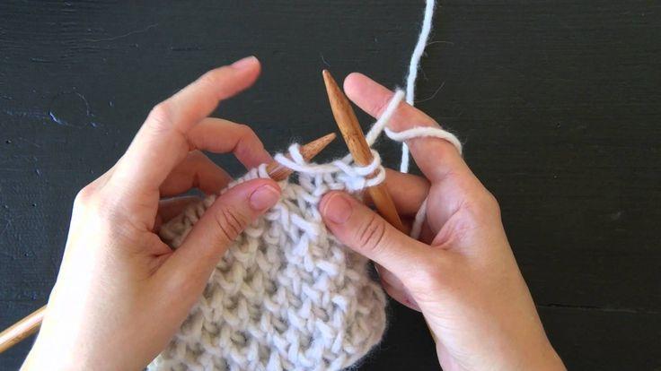 Fluffy Brioche Stitch