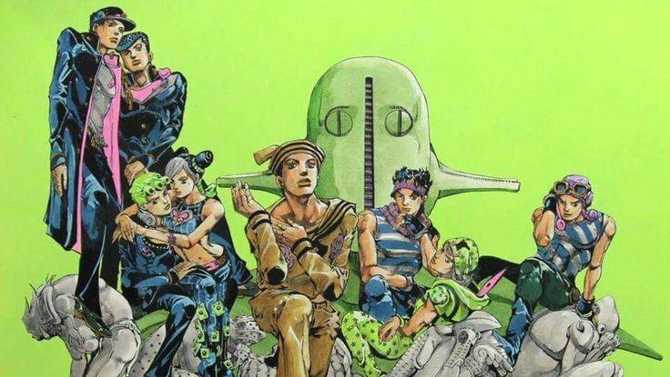 JoJo's Bizarre Aventure art by Hirohiko Araki