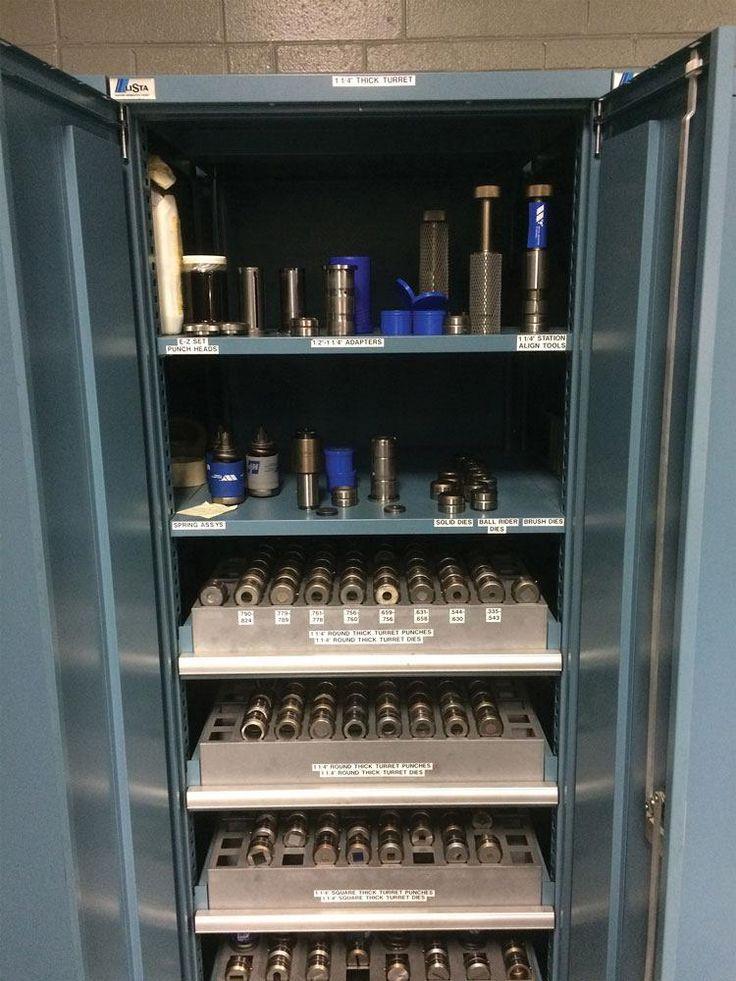 Exemplu organizare scule pentru masini de stantat CNC
