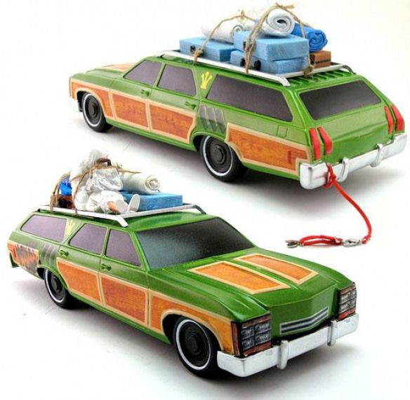 National Lampoons Vacation Car Complete With Aunt Edna On The Roof Stationwago National Lampoons Vacation National Lampoon S Vacation National Lampoon Movies