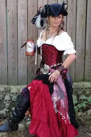 Arrrrr Fine Customers in Pirate Fashion Garb – Pirate Fashions