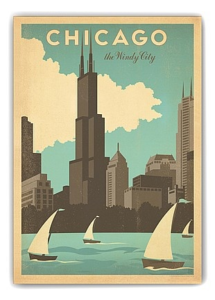 Chicago Windy City Gallery Print - $24.99 on brandsExclusive now!
