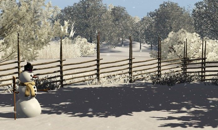 Roundpole fence decor by Gelinagelina - Sims 3 Downloads CC Caboodle
