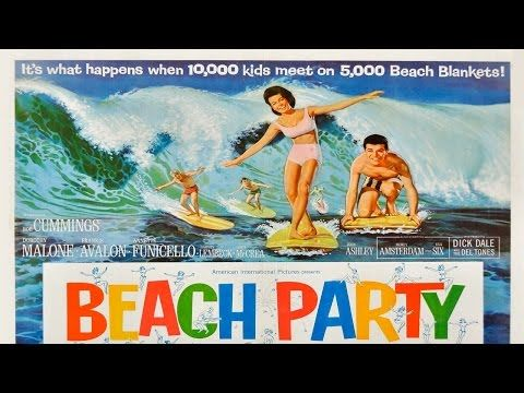 Beach Party 1963 Annette Funicello Frankie Avalon - YouTube