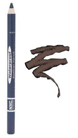 New York Color Waterproof Eyeliner Pencil, Mink